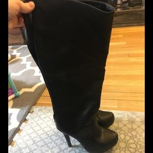Shoes - High black boots